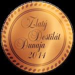 Zlatý destilát Dunaja 2014 BRONZ