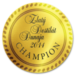 Zlaty destilat Dunaja 2014 Champion