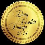 Zlaty destilat Dunaja 2014 Zlato