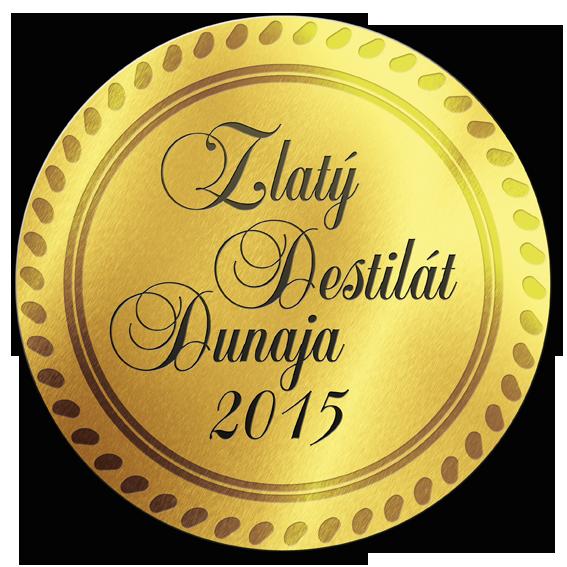 Zlatý destilát Dunaja 2015 ZLATO