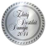 Zlaty destilat Dunaja 2014 Striebro