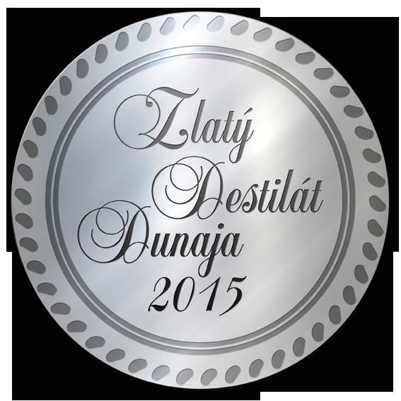 Zlatý destilát Dunaja 2015 STRIEBRO